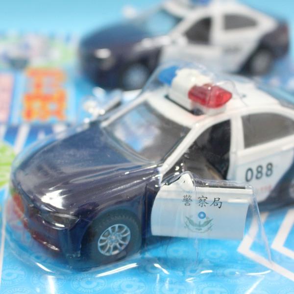 公路警車 交通大隊聲光迴力警察車 NO.119 合金警車(黑白)/一個入{促220}~生ST9662/9663