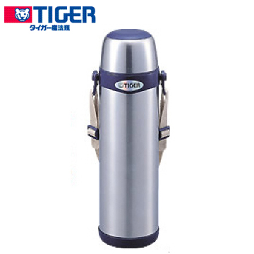 ★杰米家電☆MBI-A100 TIGER虎牌 不鏽鋼背帶式保溫瓶 (1.0L)