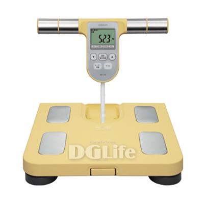 HBF-370 歐姆龍體重體脂計 體脂肪計(黃色) HBF370