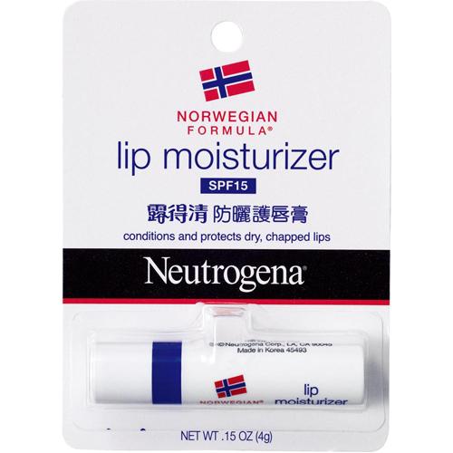 Neutrogena露得清防曬護唇膏SFP15-4g《康是美》
