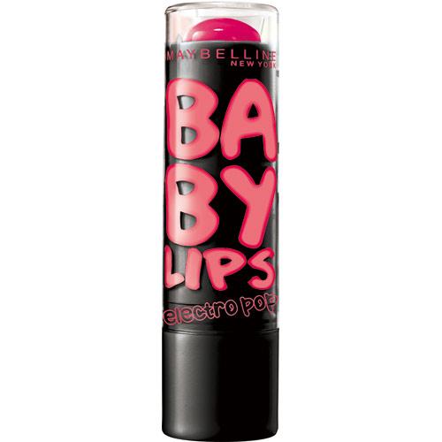 *優惠促銷*MAYBELLINE媚比琳寶貝電光護唇膏粉紅風暴《康是美》