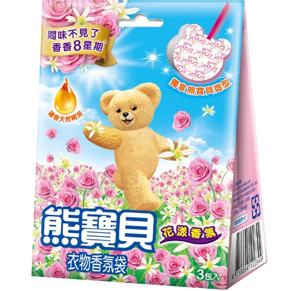 *優惠促銷*新熊寶貝香氛袋花漾香氛3入《康是美》