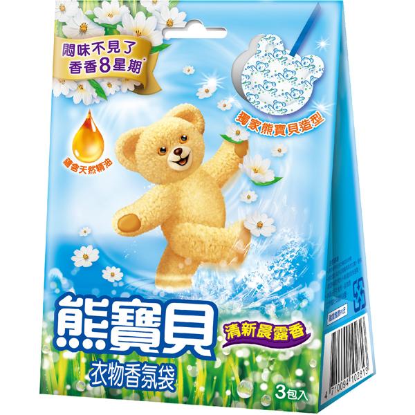 *優惠促銷*新熊寶貝香氛袋清新晨露香3入《康是美》