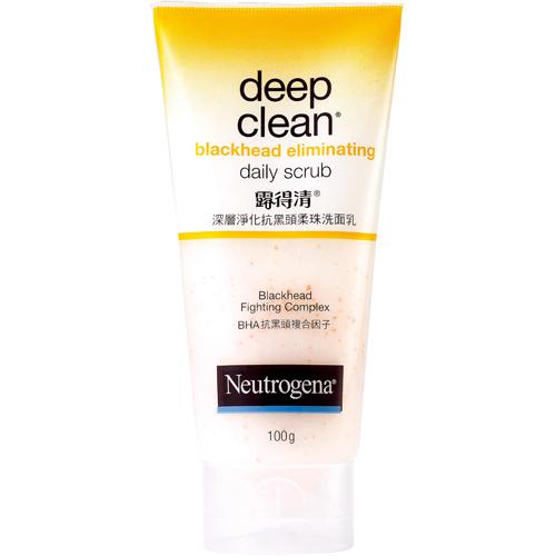 *優惠促銷*Neutrogena露得清深層淨化抗黑頭柔珠洗面乳《康是美》