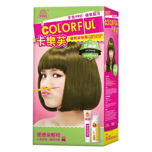 *優惠促銷*卡樂芙優質染髮霜-亞麻綠《康是美》