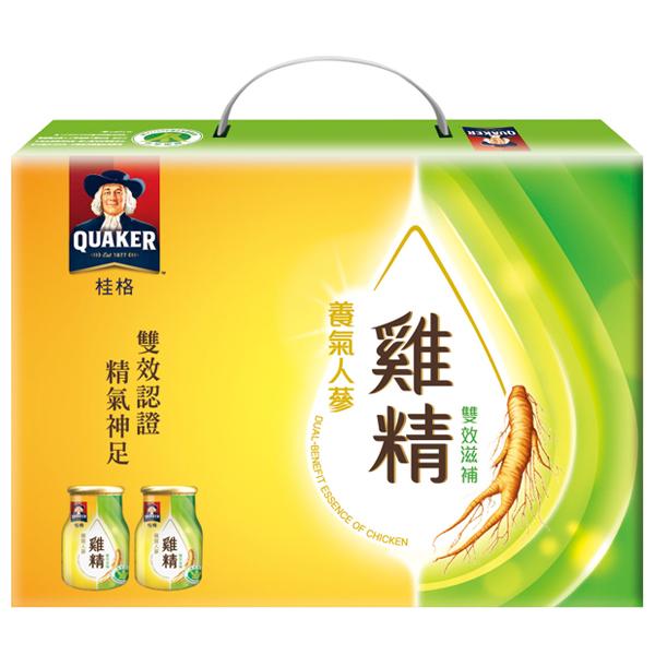 *優惠促銷*桂格養氣人蔘雞精禮盒8瓶《康是美》