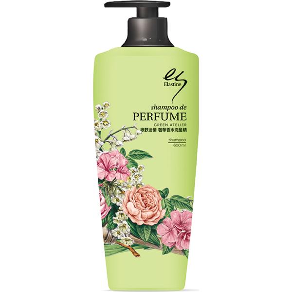 *優惠促銷*ES綠野迷情奢華香水洗髮精600ml《康是美》