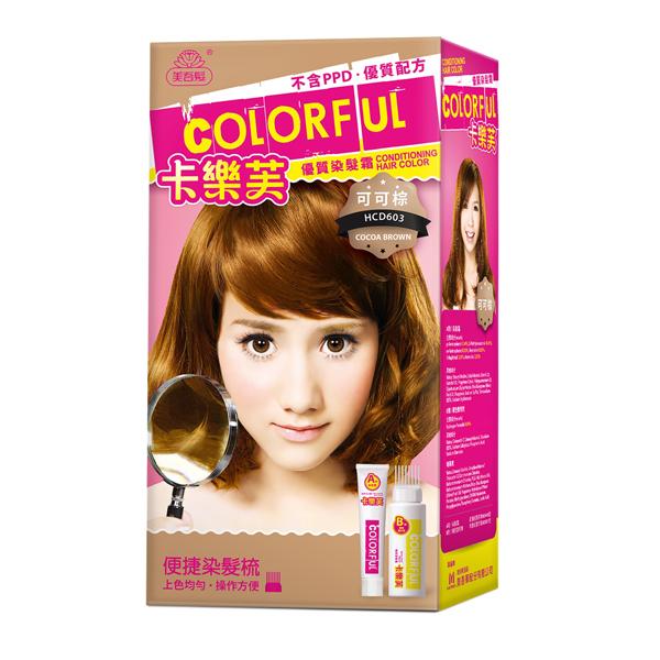 *優惠促銷*美吾髮卡樂芙優質染髮 可可棕《康是美》