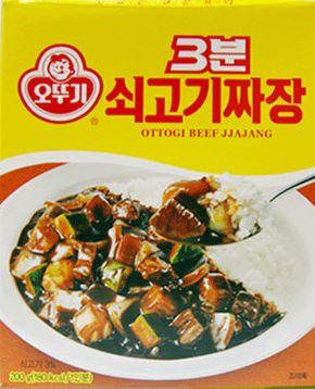 【韓新館】오뚜기 奧多吉 3分鐘料理 炒牛肉炸醬風味調理包 (缺貨中)