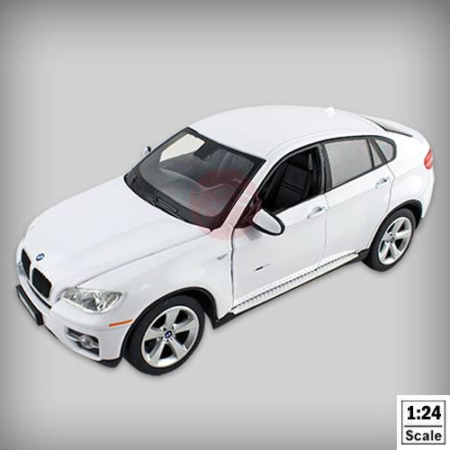 【瑪琍歐玩具】1:24授權合金車BMW X6