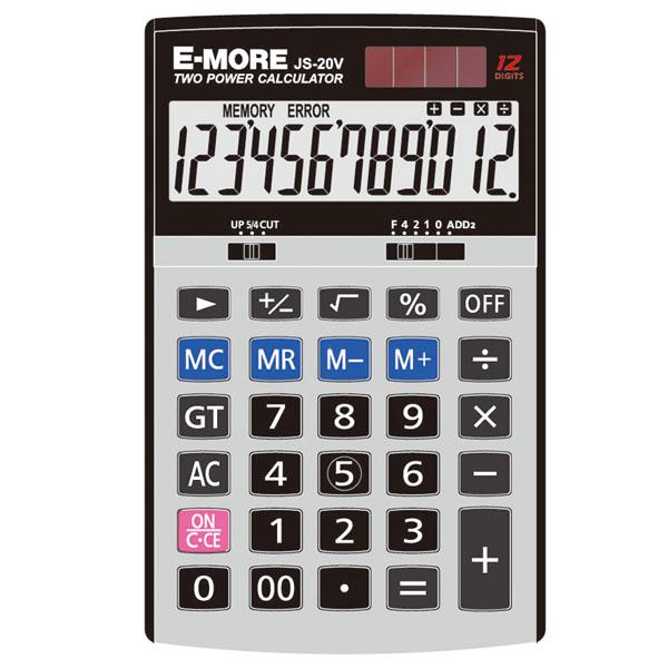 【台中*現貨】E-MORE JS-20V 計算機 另有CAISO DS-2B