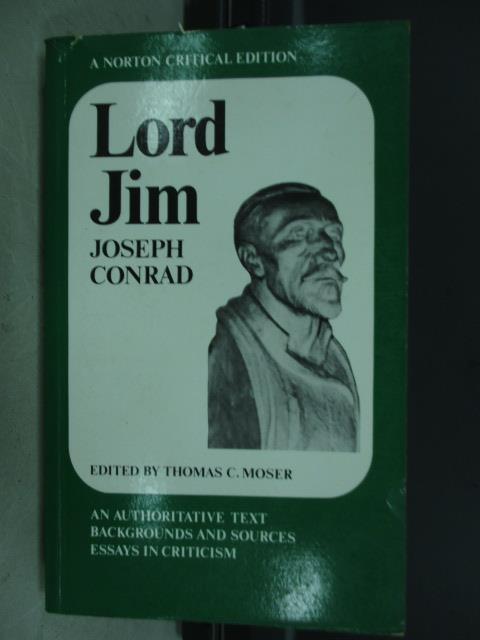 【書寶二手書T2/原文小說_JBM】Lord jim joseph conrad_1968
