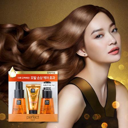 韓國 Mise en scene 完美修護精華組(髮油70mlx2+髮膜30ml) 護髮油 護髮 來自星星的你 千頌伊【B062328】