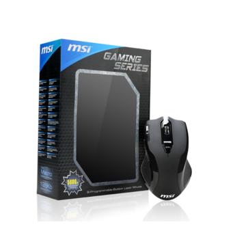 MSI 微星 W8 專業電競滑鼠 (S12-0400B90-I81)