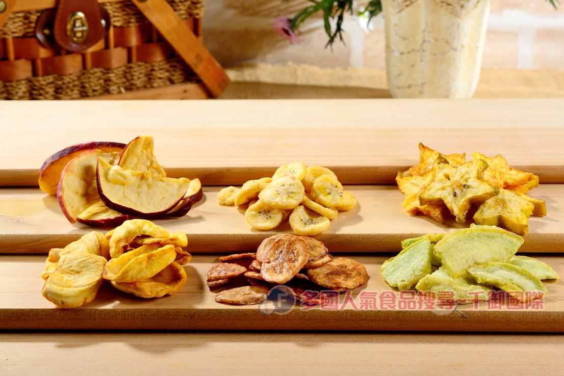 天然蔬果脆片系列 小包裝 最天然的美味 [TW00005] 千御國際