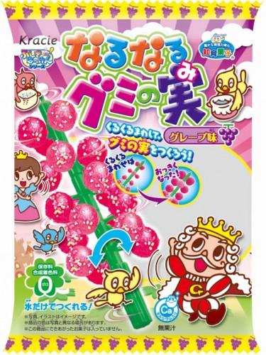 有樂町進口食品  日本 佳麗寶 知育菓子 知育果子 糖果樹(葡萄口味) 4901551354986