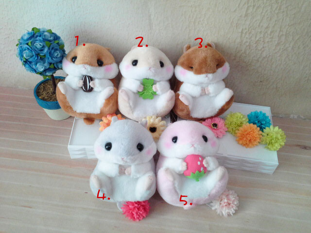 ~*My 71*~   絨毛娃娃 13cm圓松鼠大好物 可愛 動物 玩偶 玩具 禮物 情人 兒童