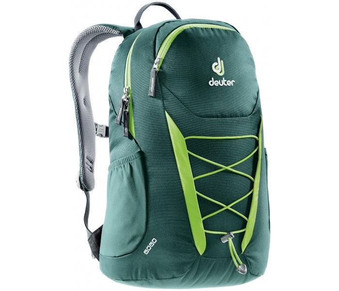 【露營趣】中和 送手電筒 Deuter 3820016 GoGo 25L休閒旅遊背包 登山背包 健行背包(綠/青)