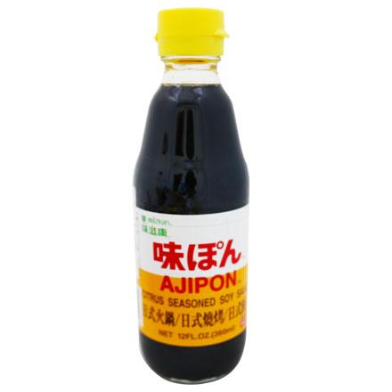 【敵富朗超巿】味滋康 柑橘醋醬汁 360ml