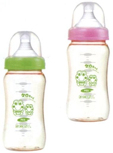 大眼蛙 PES寬口超乳感防脹奶瓶 250C.C. / 360C.C. 兩色