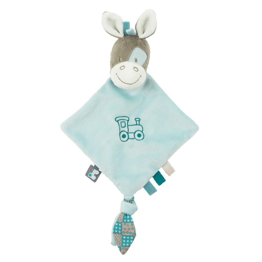 比利時【NATTOU】絨毛玩具安撫巾奶嘴扣27CM -加斯頓