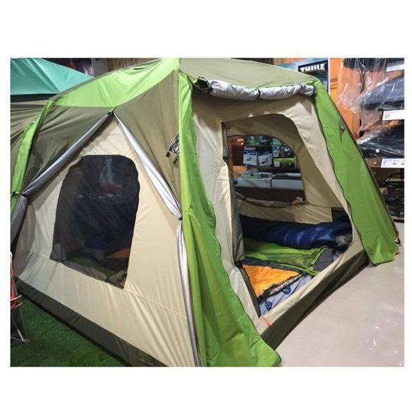 新款二代第一家庭帳篷-綠色  加贈270*270cm防潮地布