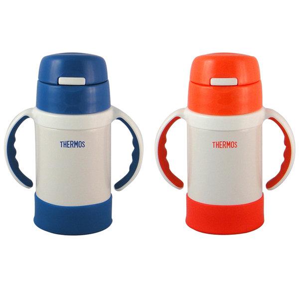 【膳魔師】280ml不鏽鋼兒童學習杯保溫杯 FEC-280(一入)藍色