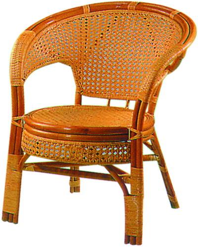 大蘋果藤椅