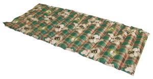 森田涼水墊(二人坐沙發墊)綠格熊