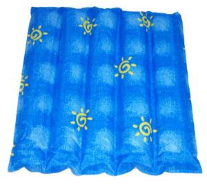 森田涼水墊(單人坐墊)藍太陽