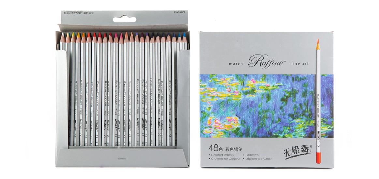 【文具通】MARCO Raffine 馬可高級專業色鉛筆 7100-48CB 48色紙盒 請詢問庫存 A13403