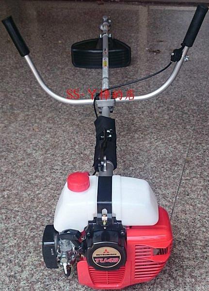 日本三菱品牌 TU43 割草機 請認明油桶在上 (故障率較低) KAAZ日本製彎頭-全配