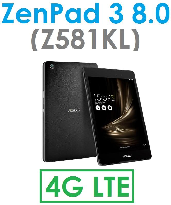 【原廠現貨】華碩 ASUS ZenPad 3 8.0(Z581KL)7.9吋 六核心 4G/32G 4G LTE 平板電腦