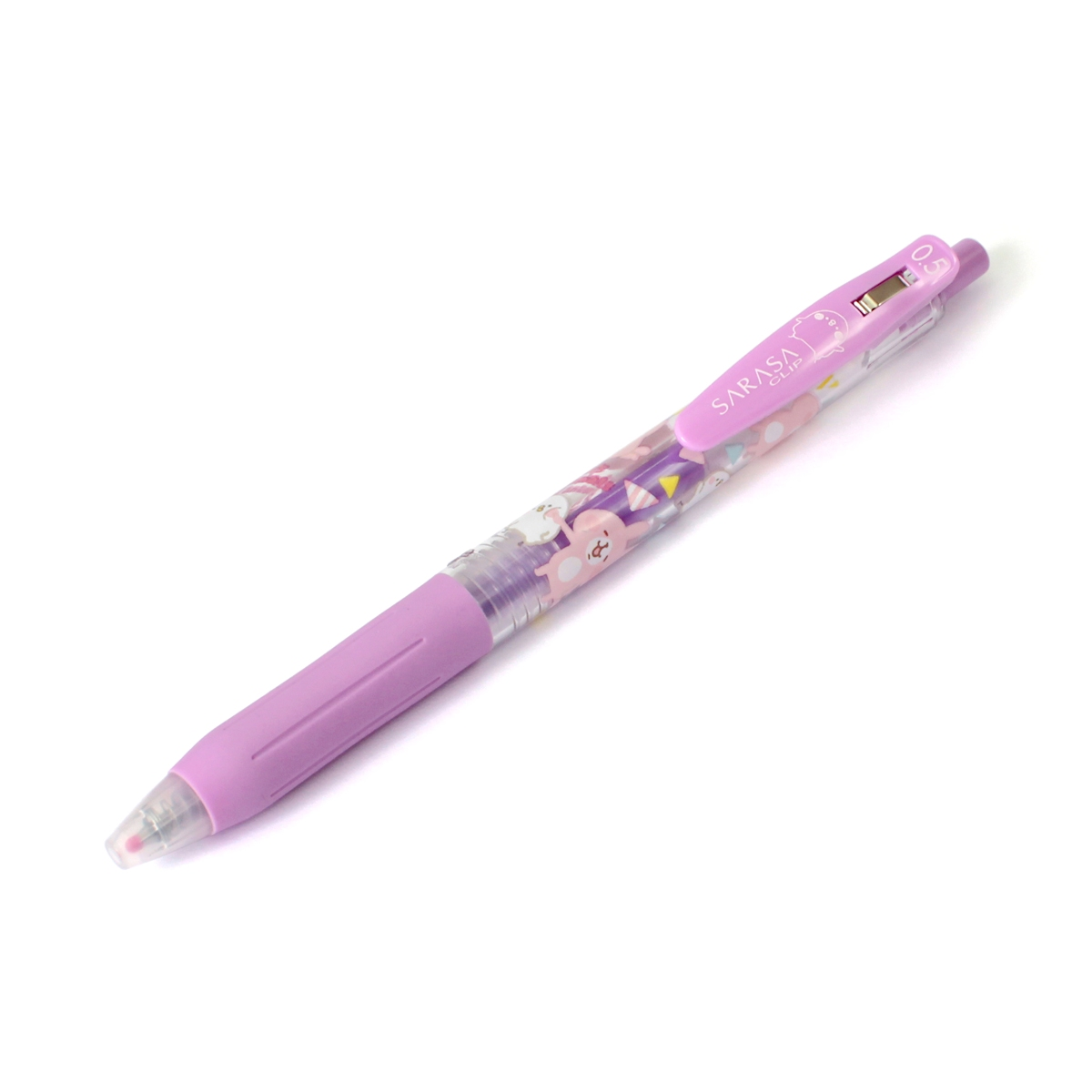 *小徑文化*日本進口 SARASA Clip x Kanahei 聯名系列水性筆 - 粉紫 ( H018-98 )