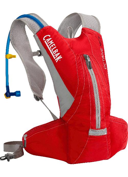 《台南悠活運動家》CAMELBAK  美國 Octane XCT 輕量多功能運動背包/馬拉松水袋背包 附3升吸管水袋 活力紅 CB62231