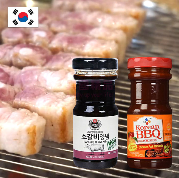 韓國 Haechandle 梨汁烤肉醬(牛肉用)/辣味烤肉醬 840g【特價】§異國精品§