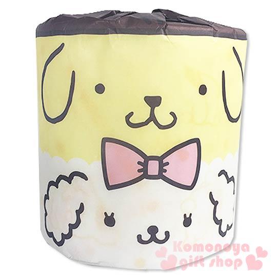 〔小禮堂〕布丁狗 日製捲筒衛生紙《黃白.大臉.馬卡龍》可愛又實用