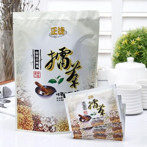 擂茶(35gx16入)~綠茶口味,新竹北埔最具特色地方名產,最佳伴手禮。