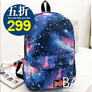 B.A.G*現貨秒發*【BT-SK】星空銀河造型後背包(現+預)-4色