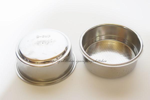 《愛鴨咖啡》伊萊克斯 Electrolux 義式咖啡機 粉杯 濾杯 EA120/EES200 雙杯份濾杯