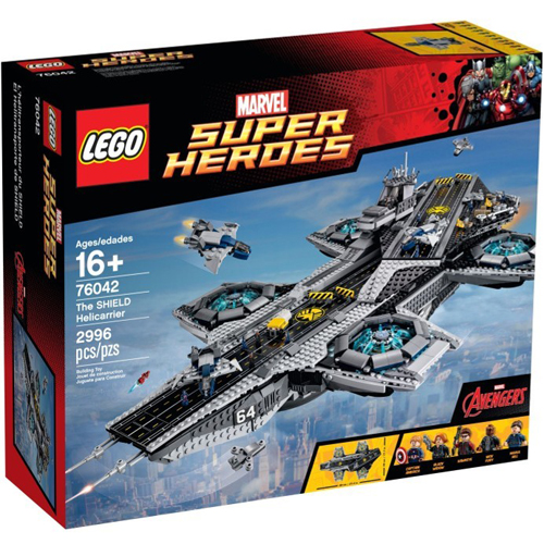 樂高積木LEGO《 LT76042 》2015 年 SUPER HEROES 超級英雄系列 - 神盾航空母艦