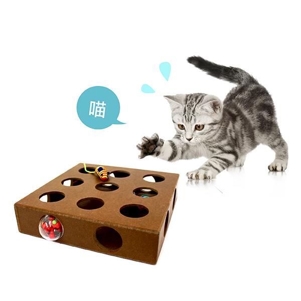 寵物玩具│毛孩互動玩具│貓咪尋寶九宮格