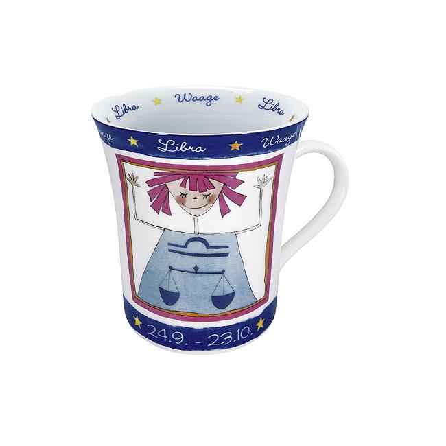 《富樂雅居》德國Konitz馬克杯 星座系列 天秤座 拿鐵杯 馬克杯 ( 9/24~10/23 )