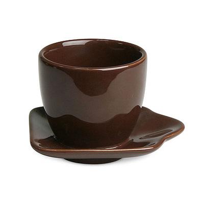《富樂雅居》德國Konitz馬克杯-Tazza UNO 疊疊樂 迷你杯 ( 巧克力/70ml )