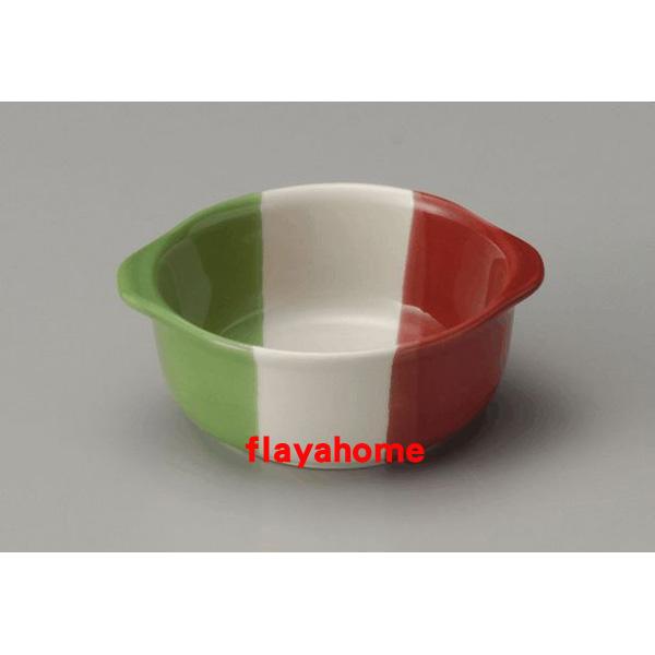 《富樂雅居》日本製 萬古燒 義大利 陶瓷焗烤盤 (圓)