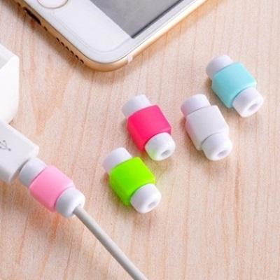 Iphone充電線保護套-創意造型5s/6plus數據線防護殼7色73pp16【米蘭精品】