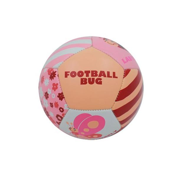 ★衛立兒生活館★日本FOOTBALL 專業兒童足球-昆蟲叮叮足球【粉】JP3807