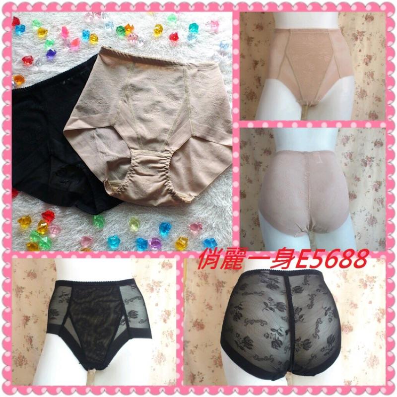 【台灣製】輕機能型高腰修飾褲提臀收納褲束褲M/L/XL/XXL俏麗一身E5688