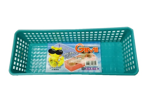 【豪上豪】吉米長方籃K605/吉米熊系列/置物籃/盒子/收納盒(不挑色)