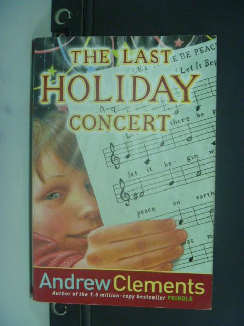 【書寶二手書T7/原文小說_NQY】The Last Holiday Concert